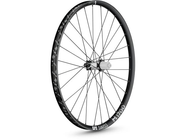 "DT Swiss H 1700 Spline Rear Wheel 27.5"" Disc 6-Bolt 148/12mm Thru-Axle 30mm MicroSpline, black"